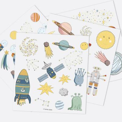 Jeu de magnets - Dans l'espace