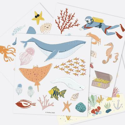 Jeu de magnets - Sous l'océan