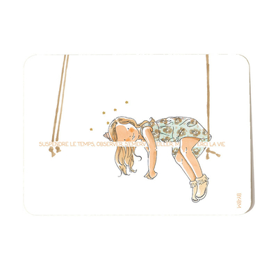Carte postale Short break 10,5 x 14,5 cm