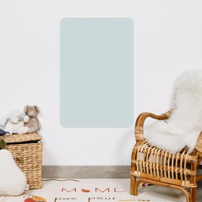 Tableau magnétique Rectangle 40 x 60 cm coloris bleu ciel