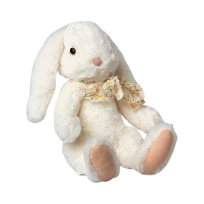 Lapin Maileg : peluche douce Fluffy Bunny off-white (large)