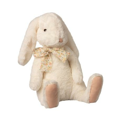 Lapin Maileg : peluche douce Fluffy Bunny off-white (extra large)
