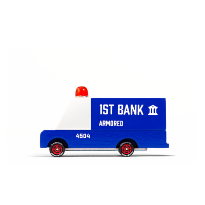 Camion blindé de transport de fonds