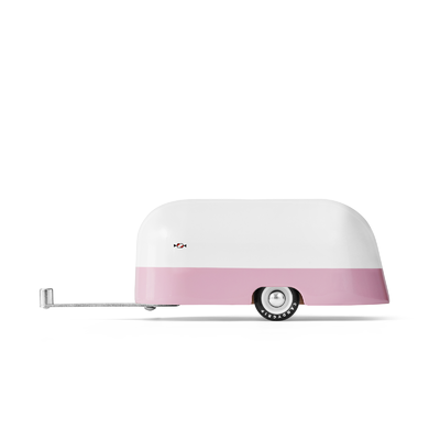 AMERICANA - Pink Camper - Caravane en aluminium