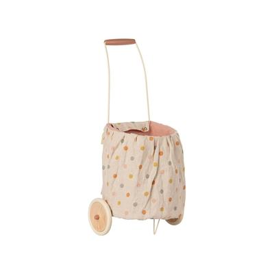 Chariot à roulettes pour enfant Maileg coloris rose