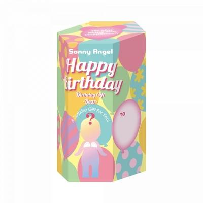 Sonny Angel Birthday Bear - 1 figurine surprise parmi les 6 présentées sur la photo