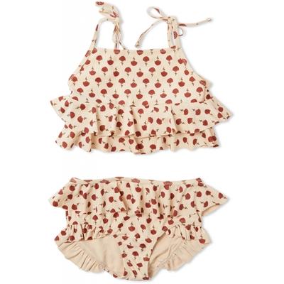 Maillot de bain 2 pièces Manuca Poppyflower Red