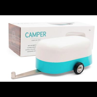 AMERICANA - Blue Camper - Caravane en aluminium