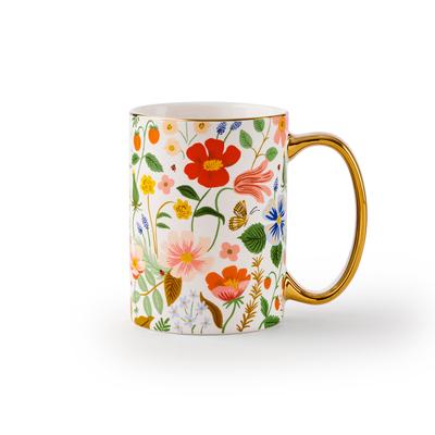 Mug en porcelaine - Strawberry fields