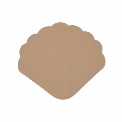 Tapis de bain coquillage anti-dérapant - Blush