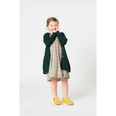 Cardigan Sally coloris Forêt - 36 mois - 6 ans