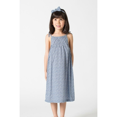 Robe Elizabeth Blue Pepper (8 ans, 10 ans)