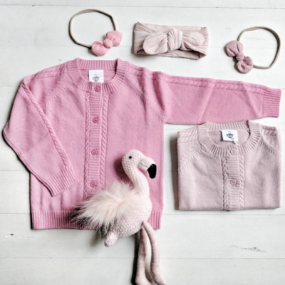 Cardigan Alexis coloris Fairy Floss