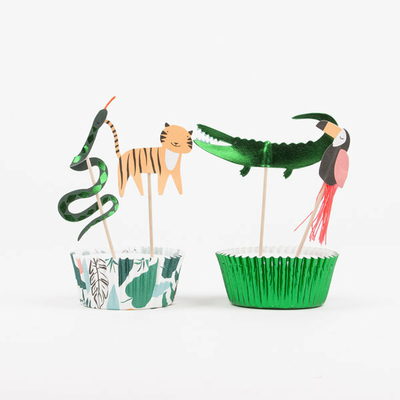 Kit à cupcakes Go Wild