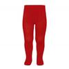 collants-basiques-coteles-rouge