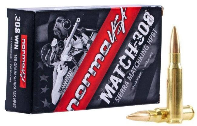 NORMA USA Match 308 168 gr SMK-1