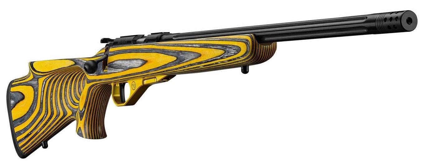 CZ 455 Thumbhole Yellow 2