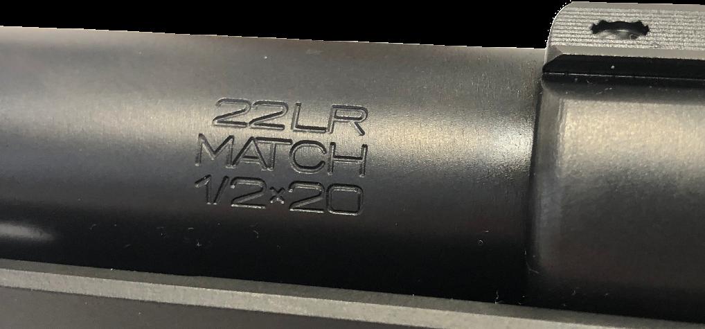 Canon CZ 457 gravé Match
