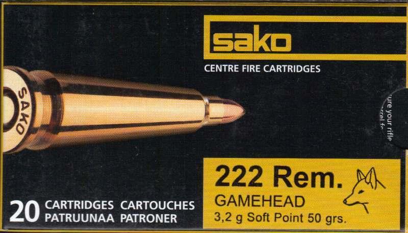 Sako Gamehead 50gr