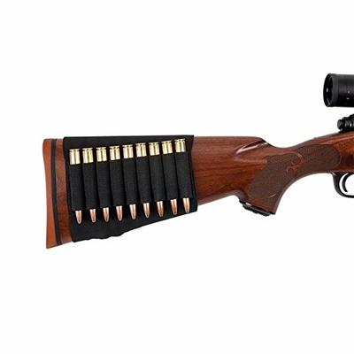 Cartouchière de crosse pour carabine