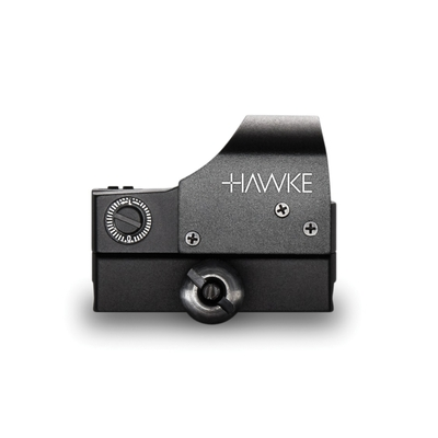Point Rouge Reflex HAWKE 1x25 Illumination automatique, fixation rail Weaver/Picatinny
