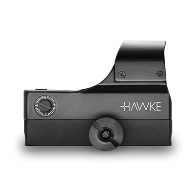 Point Rouge Reflex HAWKE Grand Angle 1x30 pour fixation sur rail Weaver/Picatinny