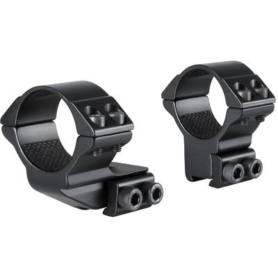 Colliers décalés HAWKE diamètre 30mm pour montage sur rail de 11 mm (décalage 25mm)