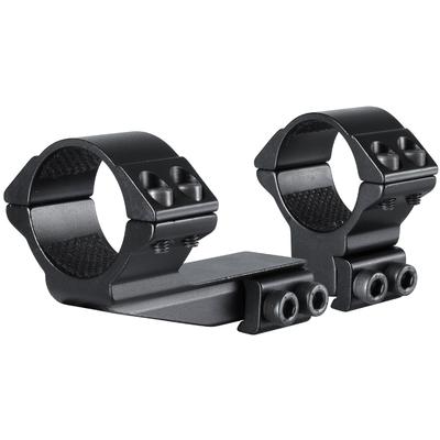 Colliers décalés HAWKE diamètre 30mm pour montage sur rail de 11 mm (décalage 50mm)