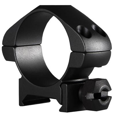 Colliers Acier HAWKE diamètre 30mm pour montage sur rail Picatinny (Bas, Medium, Hauts)