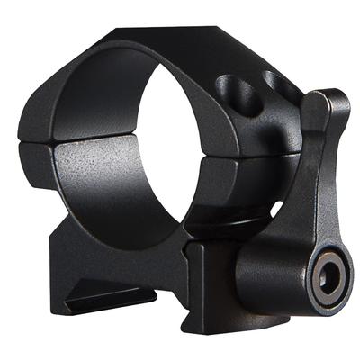Colliers Acier HAWKE Quick Detach  1 pouce pour montage sur rail Picatinny (Bas, Medium, Hauts)
