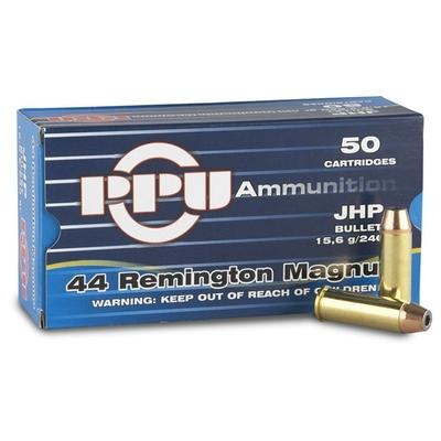 Cartouches PARTIZAN  JHP 240 gr .44 Magnum