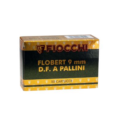 Cartouches FIOCCHI  9 mm FLOBERT - Plombs 6 à 9