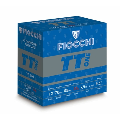 Cartouches FIOCCHI Top Trap One  Cal. 12/70