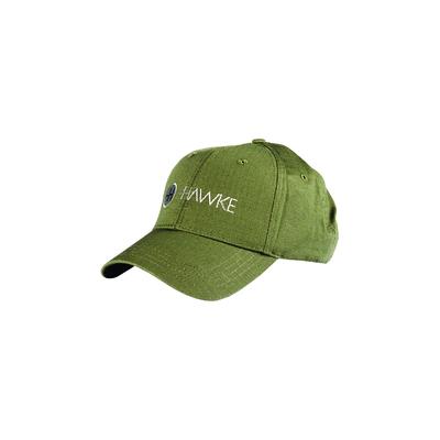 Casquette HAWKE Verte en tissu Ripstop