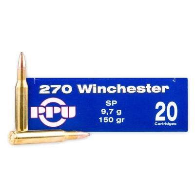 Cartouches PARTIZAN  SP 150 gr  calibre .270