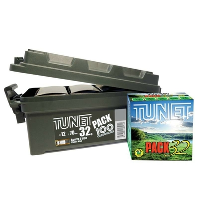 Pack Mallette Cartouches TUNET 32g pb n°6  Cal. 12/70