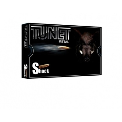 Cartouches TUNET Métal 158 grains SHOCK  7mm Rem Mag