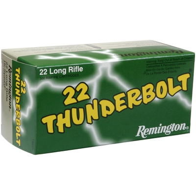 Cartouches REMINGTON Thunderbolt  .22 LR