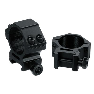 Colliers UTG de diamètre 30 mm pour fixation sur rail Picatinny (Bas - Medium - Haut)