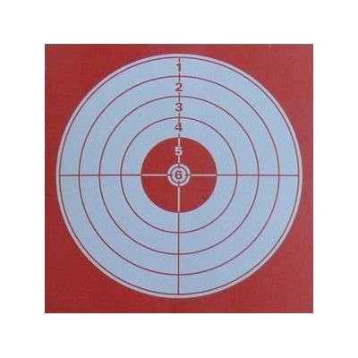 Cibles Rouges 14 x 14 cm  (par 100)