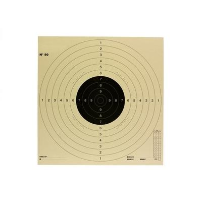 Cible TAR C50 réduite 34x34cm (par 100)