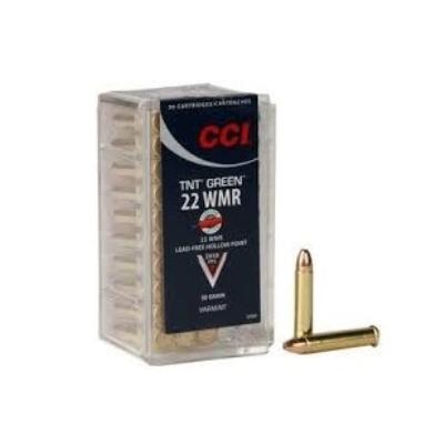 Cartouches CCI TNT Green Calibre .22 Magnum