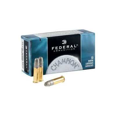 Cartouches FEDERAL Champion Standard Velocity .22 LR