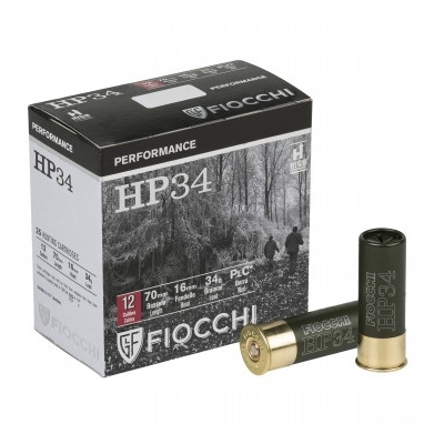 Cartouches FIOCCHI HP 34 Performance - Cal. 12/70 - Plombs 0 à 7
