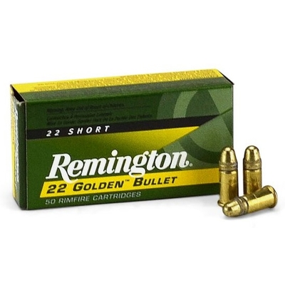 Cartouches REMINGTON High Velocity  .22 Short