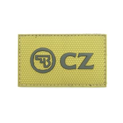 Patch Velcro CZ Logo en 3D