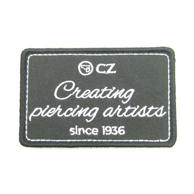"Patch Velcro CZ ""Creating piercing artists"""