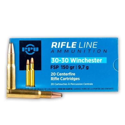 Cartouches PARTIZAN  FSP 150 gr  calibre .30-30