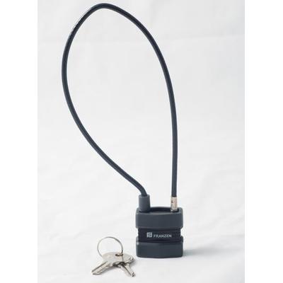 Verrou Cadenas à clé avec cable