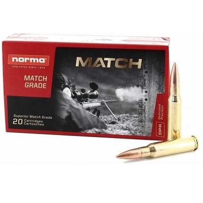 Cartouches NORMA MATCH HPBT 168 gr .308